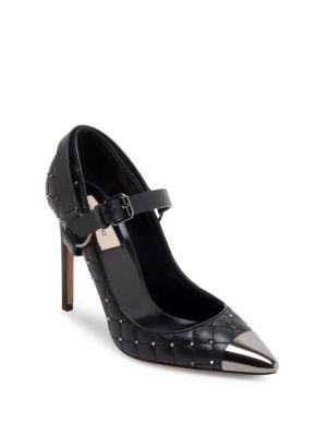 Valentino Rockstud Spike Pumps Black in schwarz Pumps für Damen 9LuYyzk