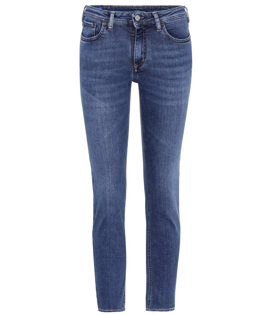 Cheap Free Shipping Blå Konst Climb skinny jeans Acne Studios Buy Cheap Looking For Cheap Sale Low Shipping Wiki Online OEX7R