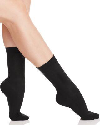 FALKE Family Ankle Socks in Black