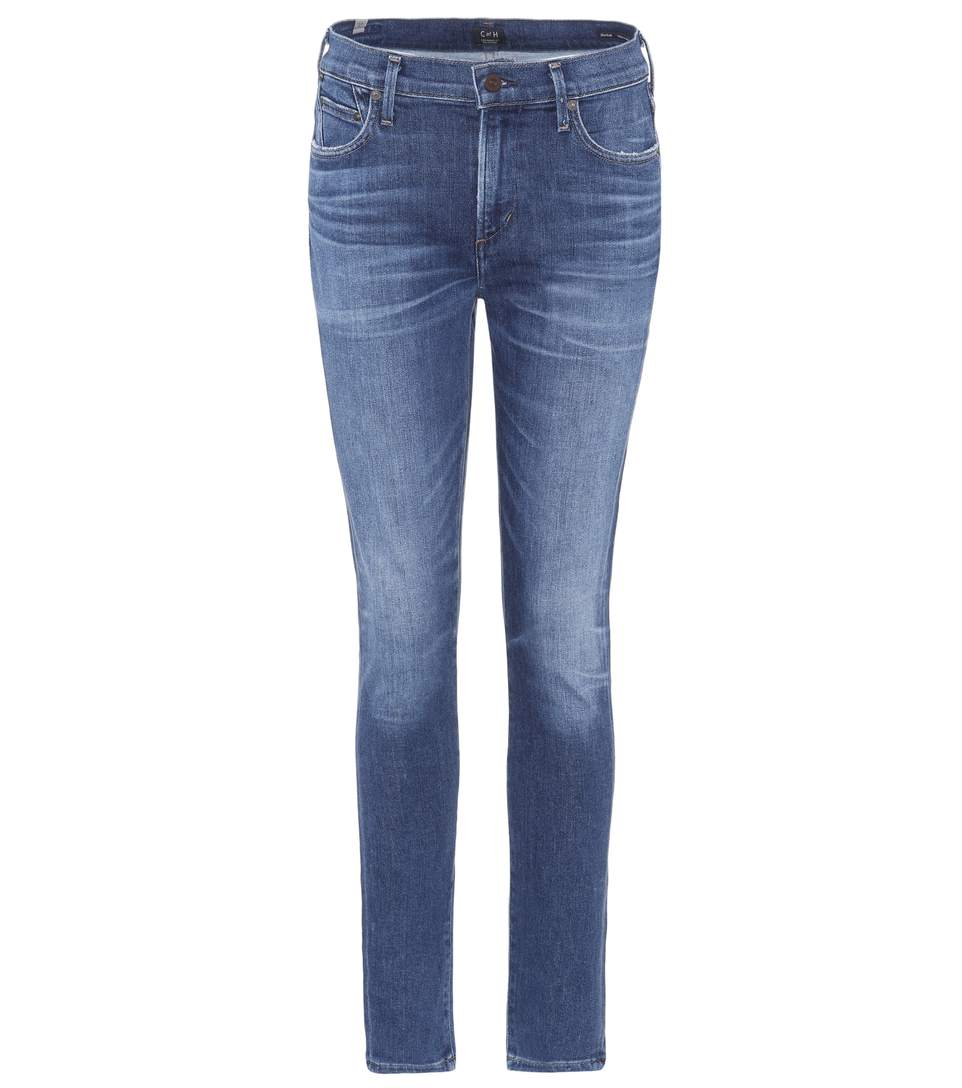CITIZENS OF HUMANITY Sculpt - Rocket High Waist Skinny Jeans in Solo