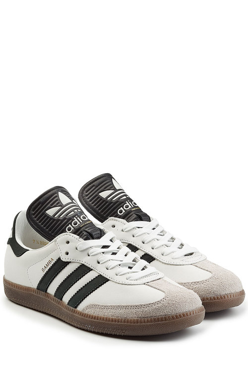 brand new 01efb 32ad2 Adidas Originals Off-White Samba Classic Og Mig Sneakers In Multicolored