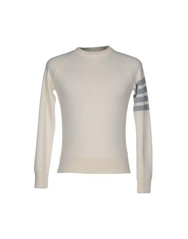 THOM BROWNE Sweater in Ivory