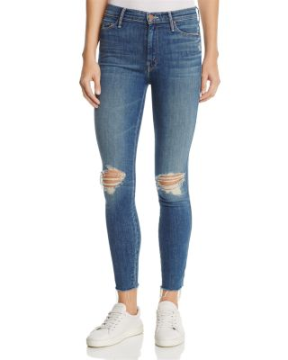 The Vamp Fray Skinny Jeans In Crazy Like A Fox