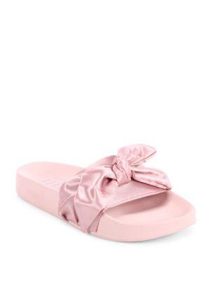 Fenty X Rihanna Pink Bow Slide