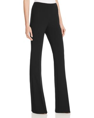 'Demitria - Admiral Crepe' Flare Leg Pants in Black from Theory