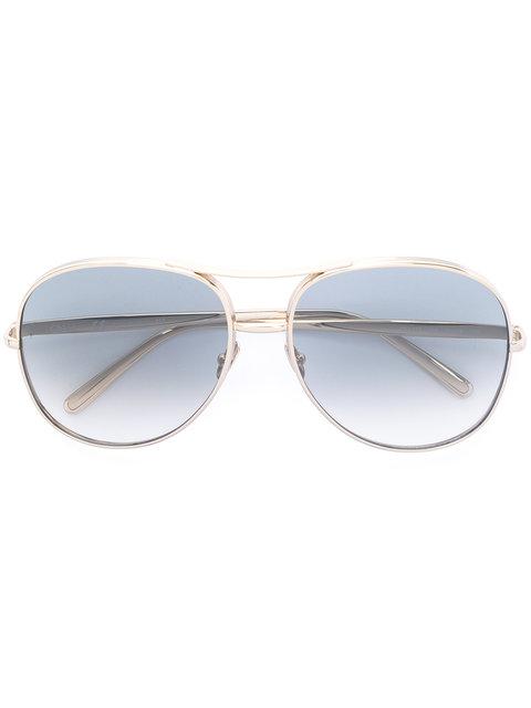 Chloé Eyewear Nola Sunglasses - Metallic