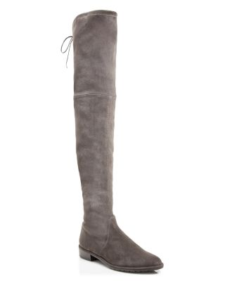 Women'S Lowland Stretch Suede Over-The-Knee Boots, Londra