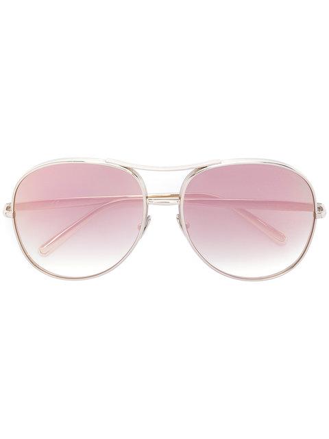 Chloé Eyewear Nola Blush Sunglasses - Brown