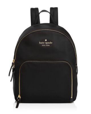 Watson Lane - Small Hartley Nylon Backpack - Black, Black/Gold