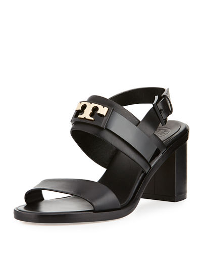 Tory Burch Patent Leather Slingback Sandals Cheap Latest Collections lojK2