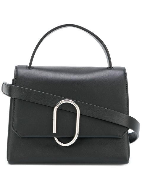 Phillip Lim Alix Mini Top Handle Satchel Leather Color Black