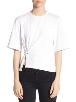 3.1 Phillip Lim Silk Short Sleeve Tunic Outlet Top Quality Sale 100% Original Wholesale Price Online Big Sale Online leZleDQdNq