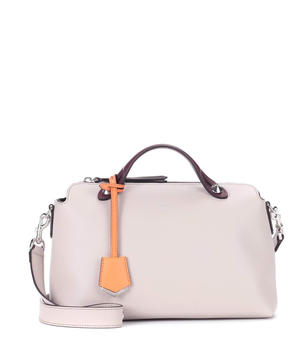 Fendi  Medium By The Way  Colorblock Leather Shoulder Bag - Beige In  Neutrals ddec8e071e