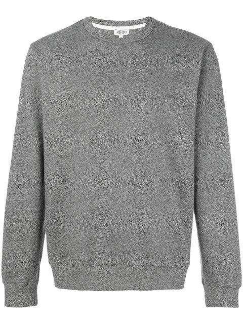 KENZO Logo Crewneck Sweatshirt, Grey
