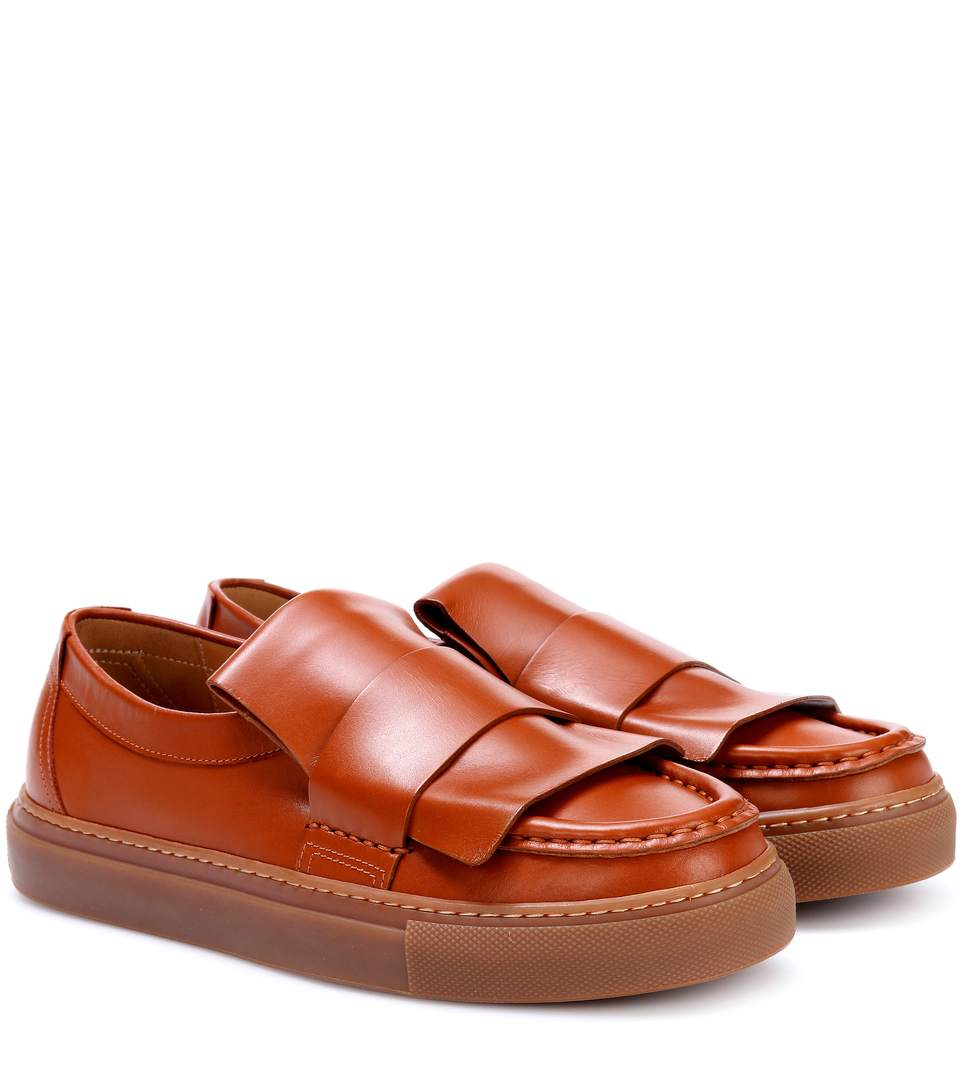 Leather Loafers in Cogeac
