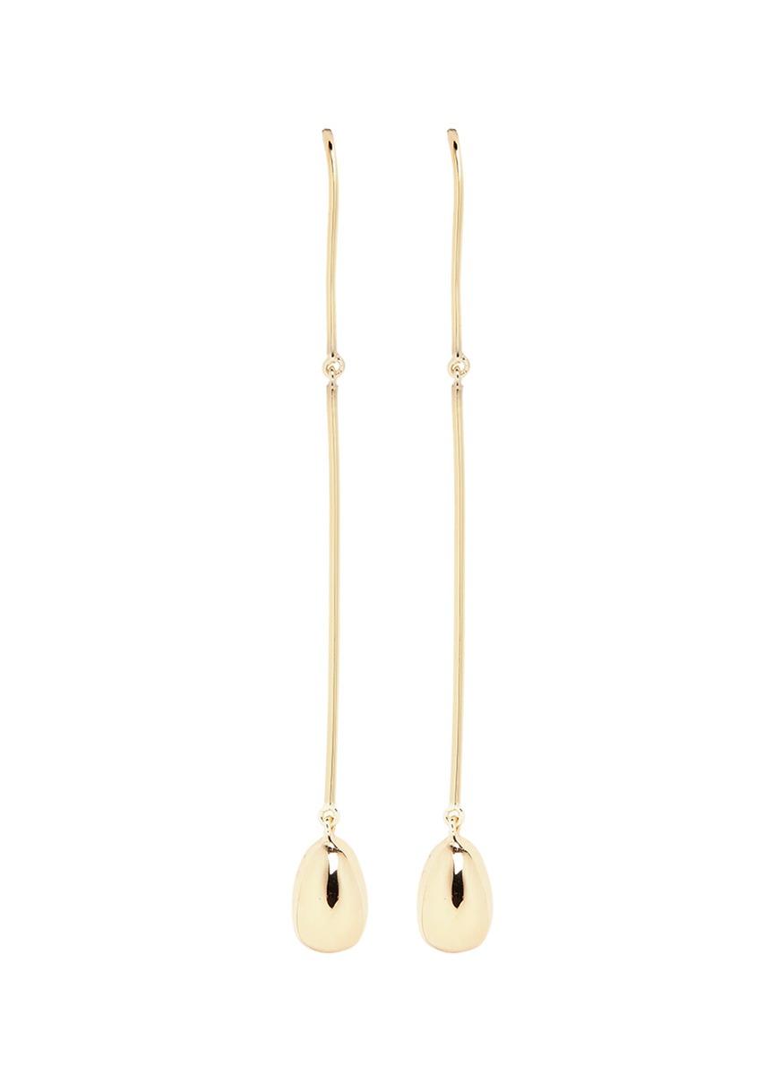 ELIZABETH AND JAMES \'Jana\' Linear Wire Ball Stud Drop Earrings ...