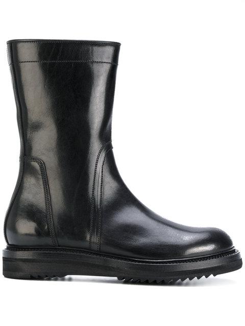 Black Square Toe Boots Rick Owens niE5TqNz