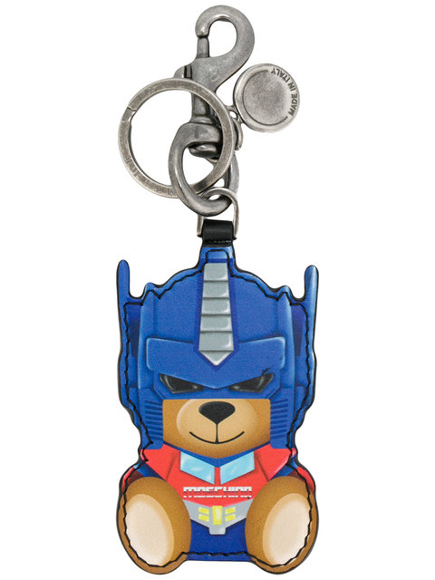 Transformer bear key ring - Blue Moschino hP0iEfR