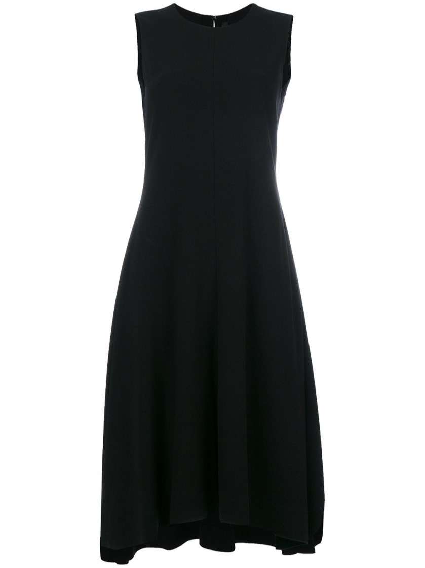 Nophella Flared Dress in Black