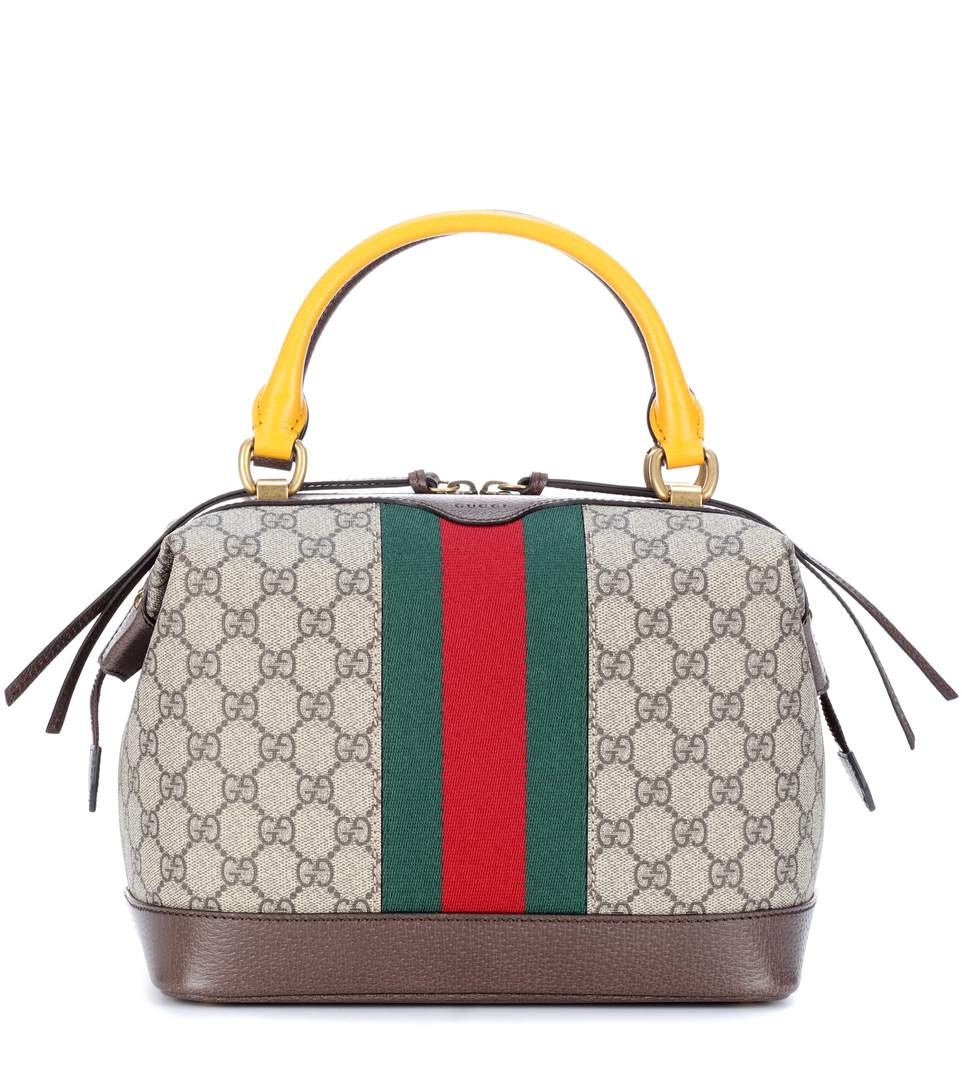 GG Supreme canvas and leather clutch Gucci WpCjyNAh5s