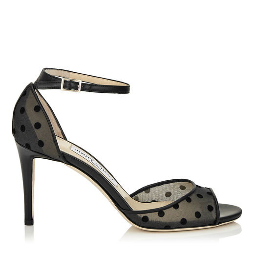 Outlet Lowest Price Buy Cheap Countdown Package Jimmy Choo Annie 100 Polka Dot M... Jimmy Choo Discounts Sale Online In China Sale Online eA9FDblCV
