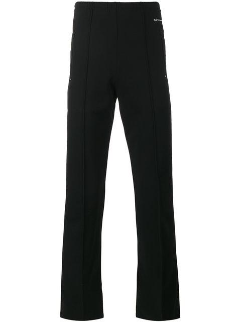 Slim-Fit Stretch-Jersey Sweatpants in Black