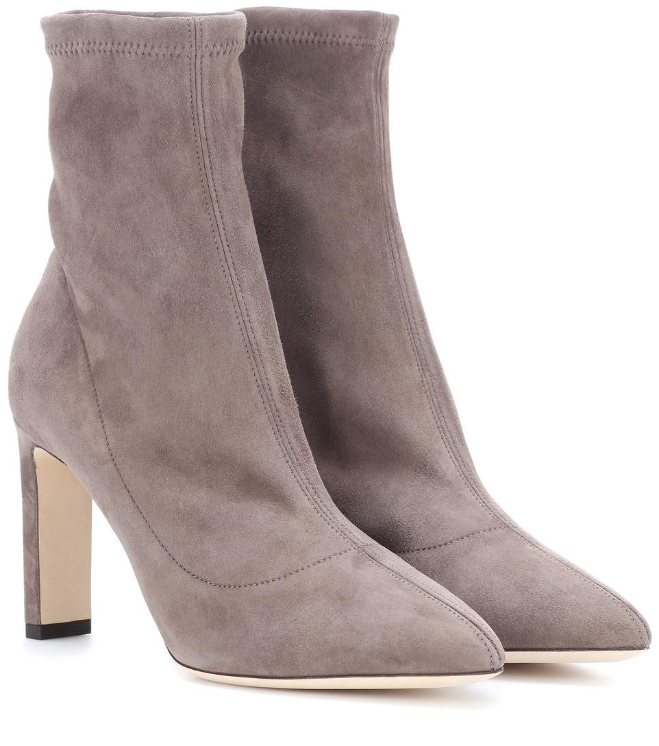 Jimmy Choo Suede Sock Boots Fashionable Pick A Best Amazing Price Cheap Online Cheap New Styles 0KHNXO