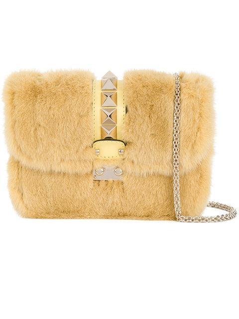 Valentino Valentino Garavani Glam Rock Shoulder Bag - Unavailable, Yellow & Orange