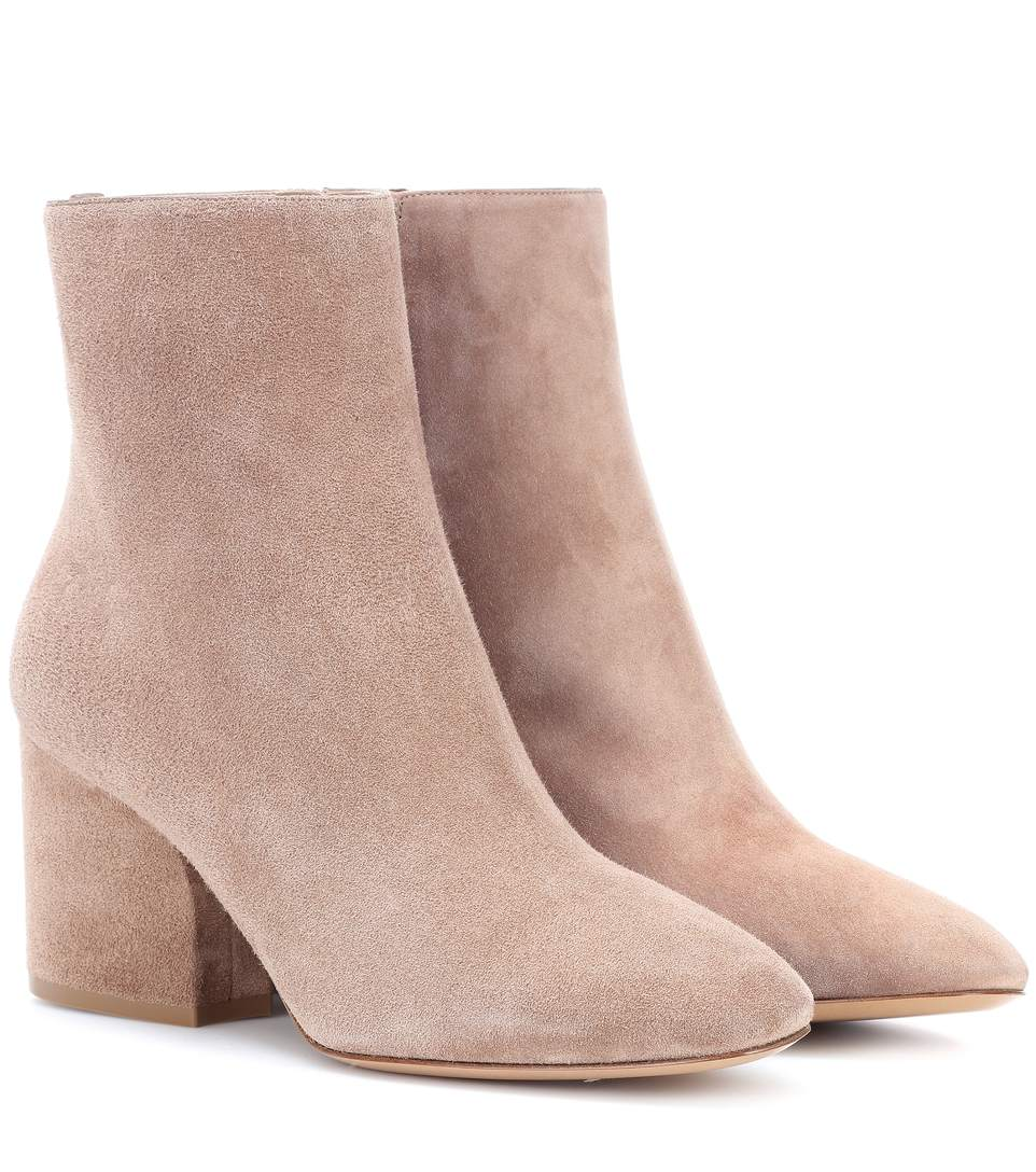 Pisa 70 Suede Ankle Boots, Neutrals