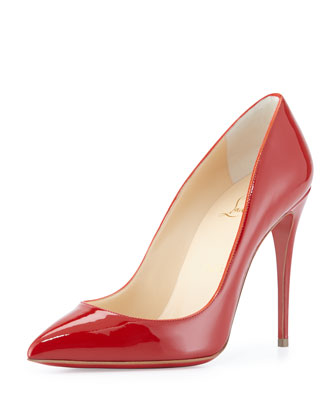 Pigalle Follies 100Mm Rouge De Mars Patent, Red