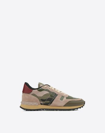 Camouflage Sneaker in Green