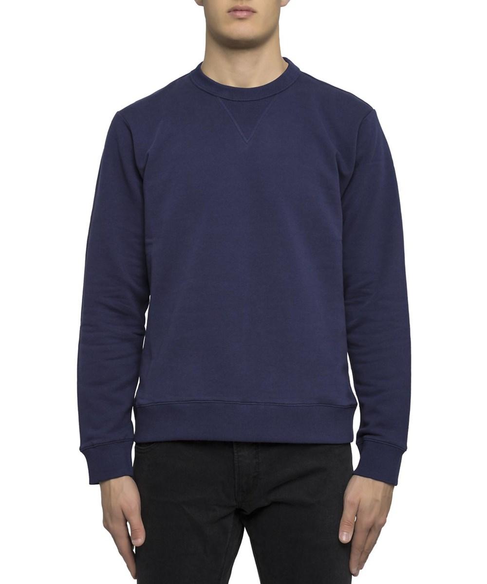 KENZO Men'S  Blue Cotton Sweatshirt'