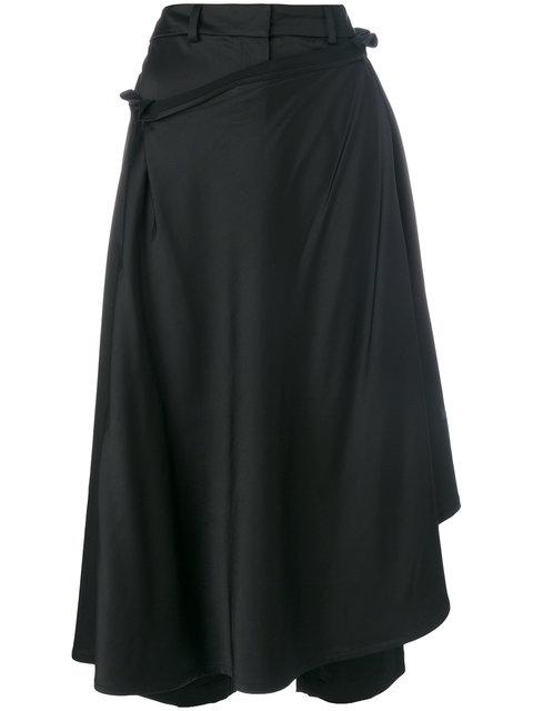 A.W.A.K.E. Draped Skirt Trousers