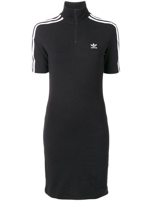 ADIDAS ORIGINALS Adidas Women'S Black High Neck Dress in Navy