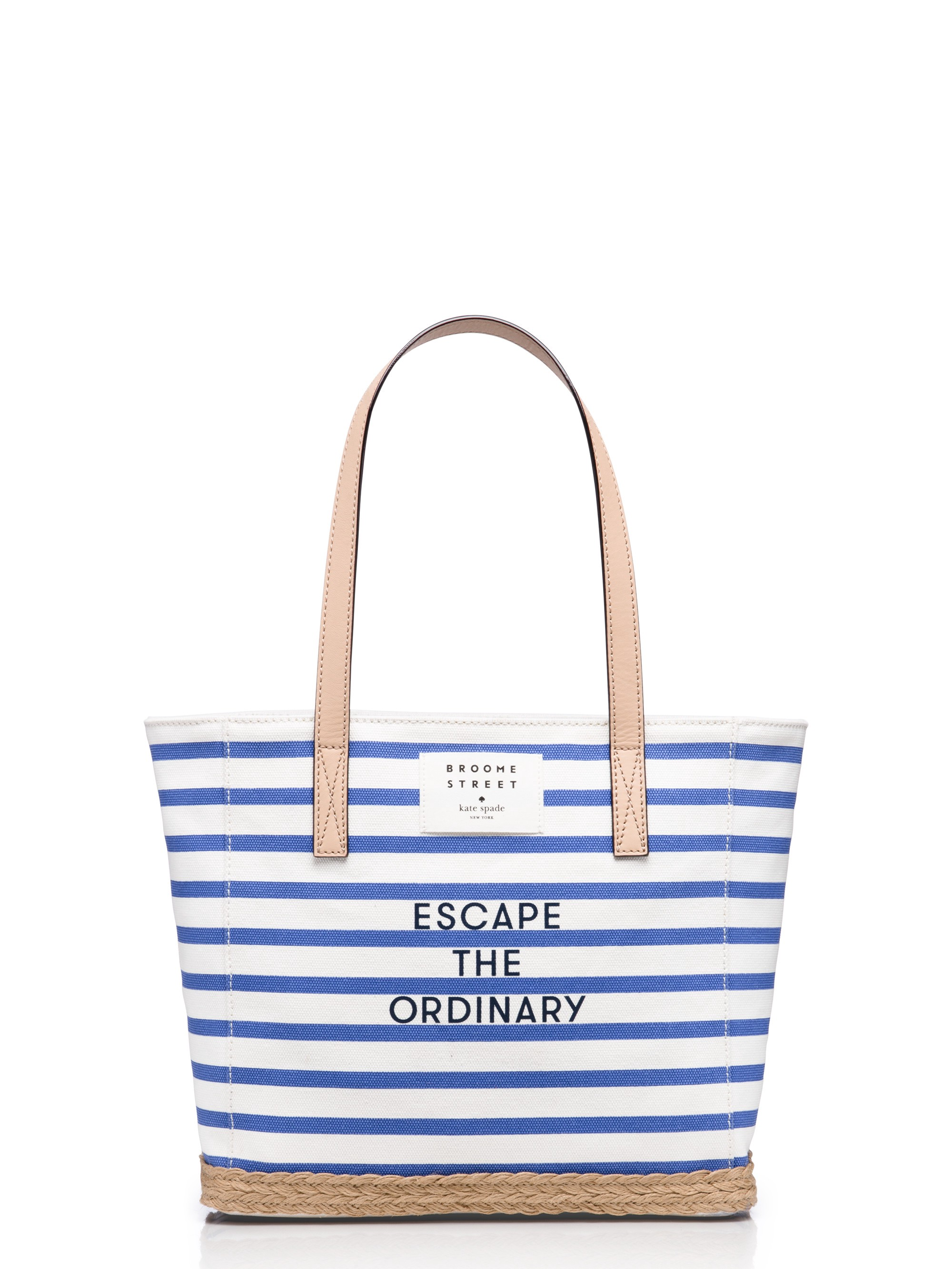 KATE SPADE Rogers Way Hallie in Classic Menswear Blue/Cream