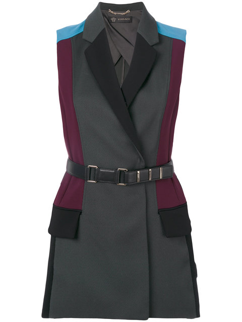 VERSACE Colour Block Gilet