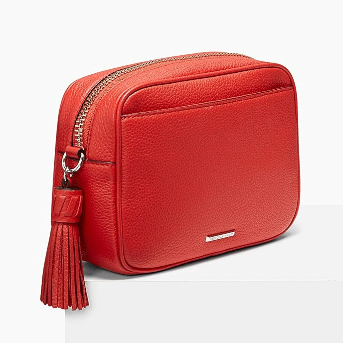 REBECCA MINKOFF Bryn Camera Bag in Fire Engine