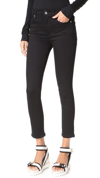 Roxanne Super High Rise Skinny Jeans, Jet