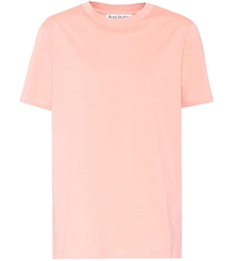 Woman Enya Cotton-Jersey T-Shirt Antique Rose