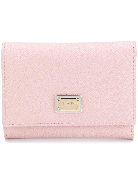 Continental Tri-Fold Wallet in Pink