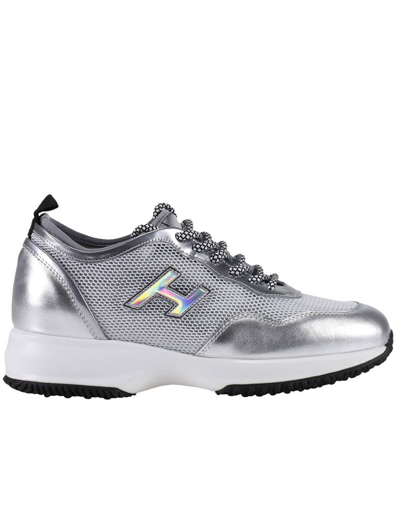 HOGAN Sneakers Shoes Women in Silver