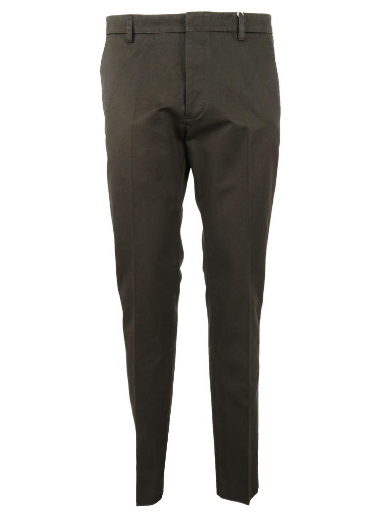 VALENTINO Classic Trousers in Green Bush