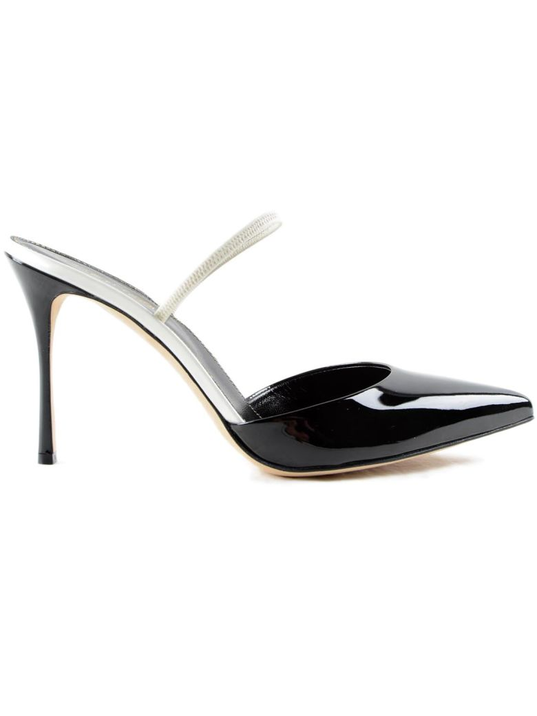 SERGIO ROSSI Pointed Toe Pumps in Black