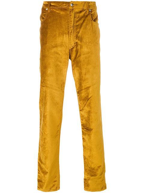 Huge Surprise For Sale Metallic Jeans ECKHAUS LATTA Cheap Sale Comfortable 2jycIKudtB