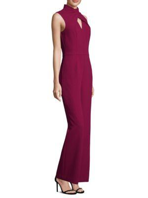 Trina Turk Crossover Strap Wide-Leg Jumpsuit Discount Great Deals Deals For Sale wdXA4O3ry