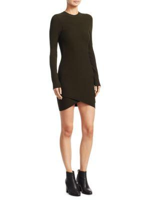A.L.C. Open Knit Mini Dress