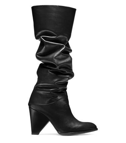 The Smashing in Black Nappa Leather