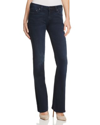 Becca Bootcut Jeans In Mystic Blues