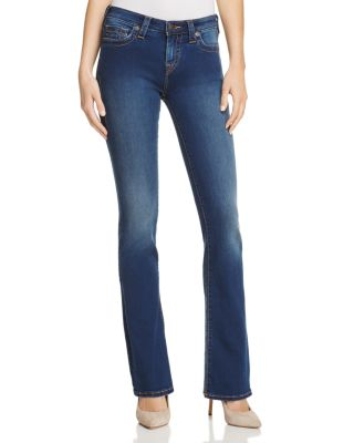 Becca Bootcut Jeans In Lands End Indigo in Eggm Lands