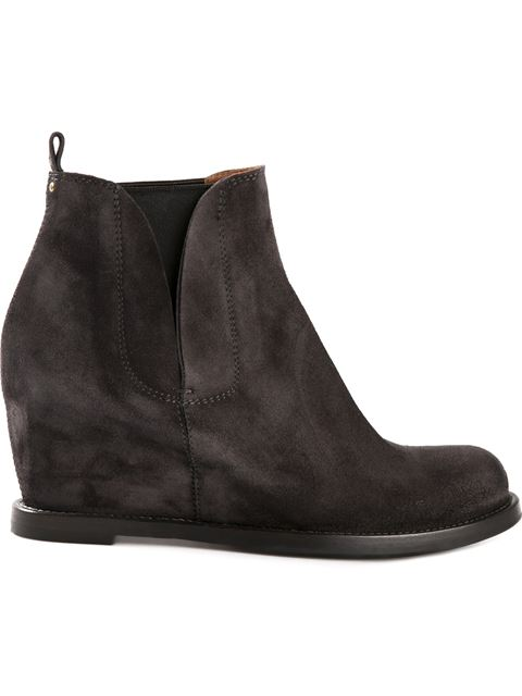 BUTTERO Buttero Wedge Boots - Grey